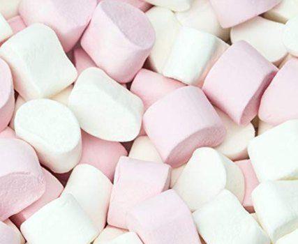marshmallows for a chocolate fountain