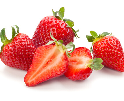 strawberries for a chocolate fountain